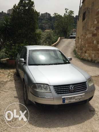 Passat m 2003 silver in good condition كسروان -  1
