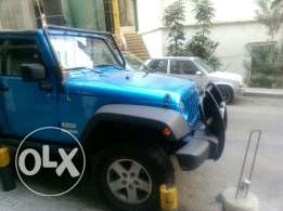 Wrangler sport 2 doors soft top blue color clean 40000 miles