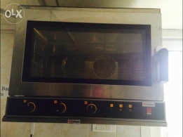 eka/bropenny convection oven stainless wall mount like new