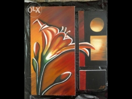 Painting /Peinture a huile- painting in good condition for sale
