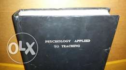 Psychology apllied to teaching