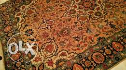 Antique tabris iran rug used