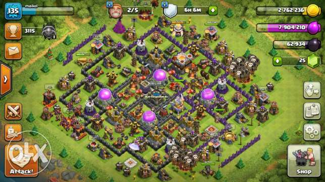 """Clash of clans """"th11 max"""""""