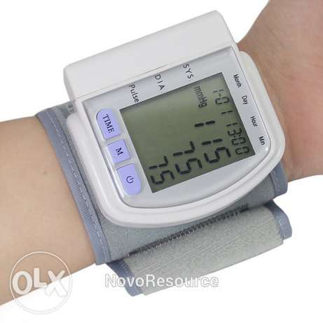 Digital arm blood pressure