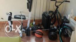 Sporting goods for sale in very good condition
