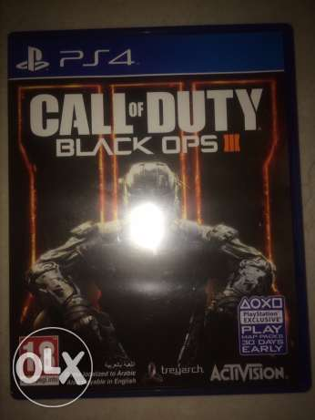 call of duty black ops 3 cd PS4