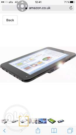 Promate Tablet-Projector with android os تابلت-شاشة عرض ١٠٠ إنش