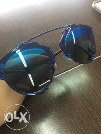 Dior sunglasses so real black & blue حازمية -  1