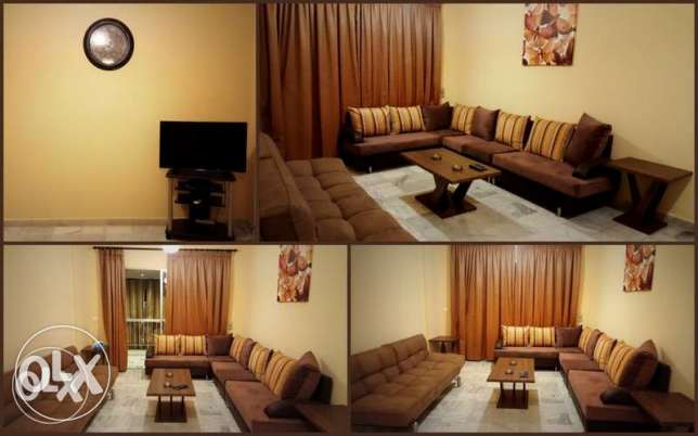 Furnished apartment on Hamra main street (short term rental)