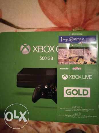 Xbox One package for sale (NEW/SEALED) هلالية -  3