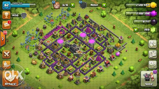 Clash of clans Town hool level 9