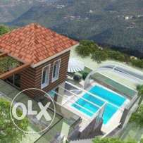 chaleh private with private pool,private 150m garden,private parkaing