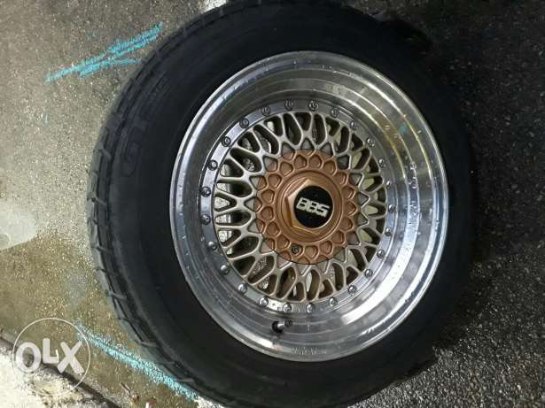 bbs rims with tires