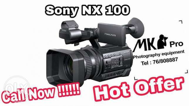 Sony nx100 hot offer