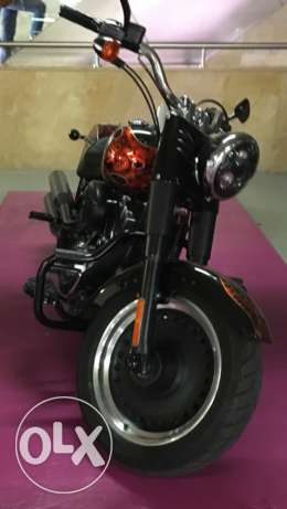 Harley Davidson Fatboy limited edition 2012 from dealership