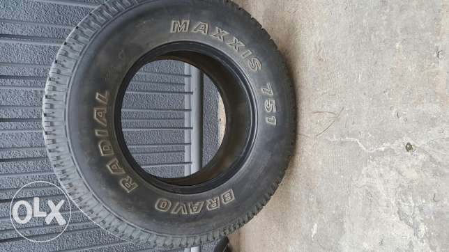 Maxxis tires 265/7016