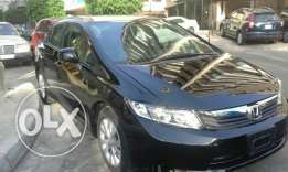 Civic m 2012 full option ajnabeye very clean