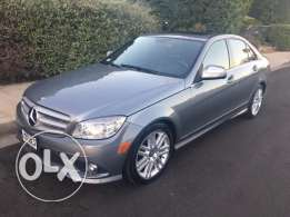 2008 mercedes C 300 gray clean carfax low mile ready for delivery