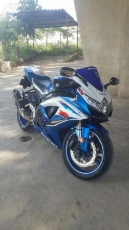 Gsxr 600cc 2009 like new