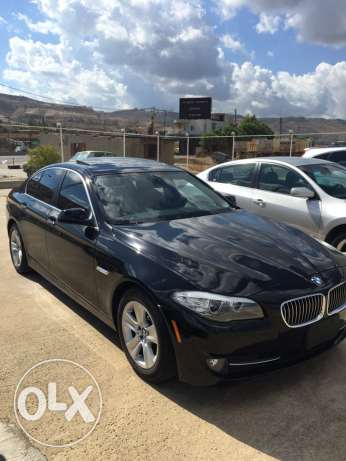 bmw 528i 2011 black xenon checheh شكا -  3