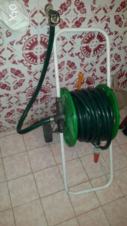 15m hose with stand roll