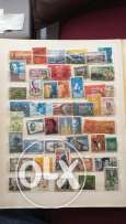 20 Pages of Old Stamps