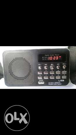 Mp3 fm radio digital audio player جديدة -  1