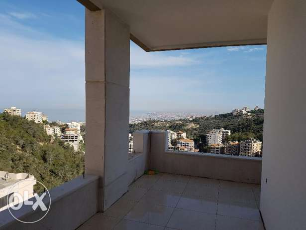 Breath-taking Sea View 2BR and rooftop terrace - Bchamoun