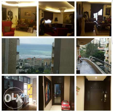 Sea view apartment in dohat aramoun choueifat
