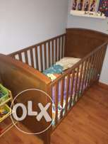 Kid Bed + Mattress from Mothercare