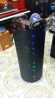 Powered speakers with light