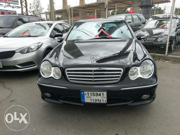 Mercedes C32 AMG full 349 hp v6 supercharged انطلياس -  4