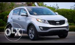 Car For Rent kia sportage