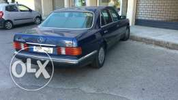 Mercedes 560 sel (plate# not for sale)