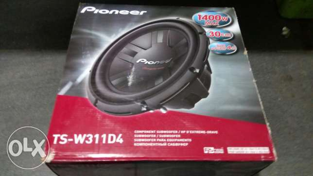Subwoofer pioneer original 1400watt for car