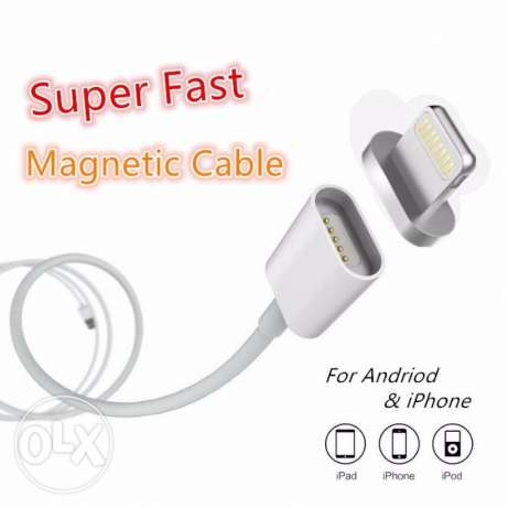 2.4A Magnetic Charging Cable (iPhone / Android)