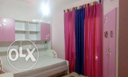 Double bed room for girls