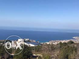 Prime Location Land In Halat With Stunning Sea View.