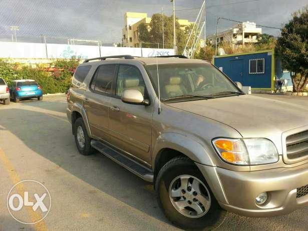Toyota sequoia (from land cruiser)