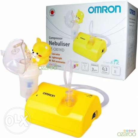 Omron Children CompAir Lightweight Compressor Respiratory Nebuliser