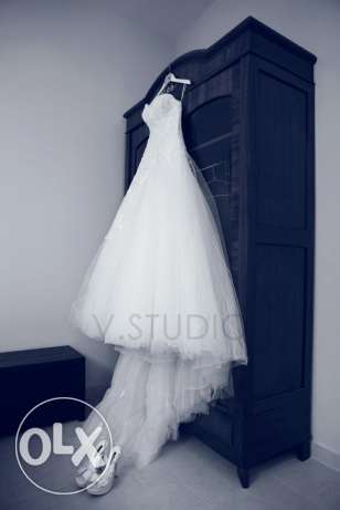 Designer Wedding Dress for Sale!! FREE evening dress included بعبدا -  6