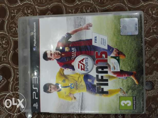 FIFA 15 for ps3/used for 5days/work 100%
