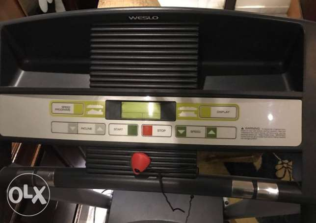 Weslo Cadence C6 Treadmill in good condition for sale