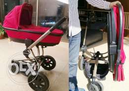 Poussette: Quinny Buzz Stroller & Carry-Cot & Car Seat