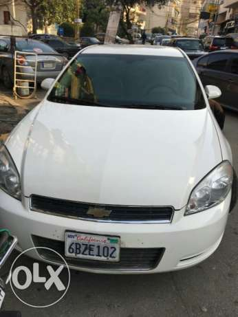 Chevrolet Impala LS WHITE 2007 new tired 19 .