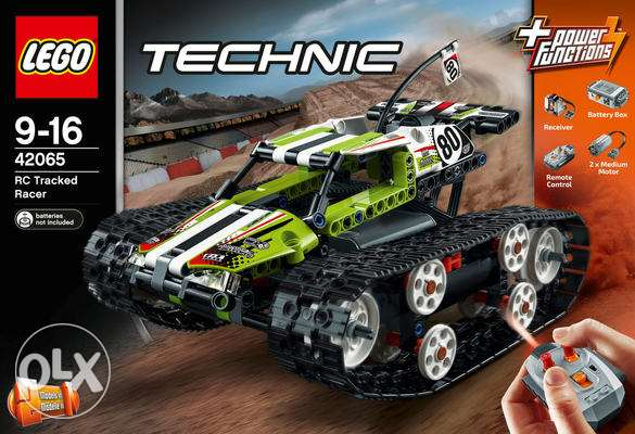 Lego Technic 42065 full RC Tracked Racer 2017