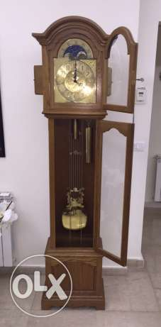 kieninger floor clock 07K- 116 cm made in West Germany