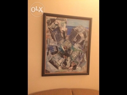 Original oil paintings by Chucrallah Fattouh