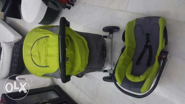 2in1 Stroller and car seat خلدة -  4