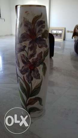 opaline vase very luxury and high quality made in italy خلدة -  1